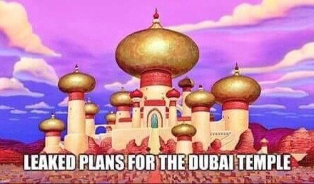 Leaked plans for the Dubai temple?