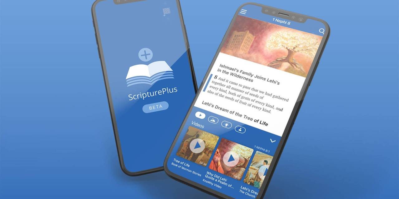 WOW! SCRIPTUREPLUS APP BRINGS SCRIPTURE STUDY TO LIFE