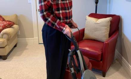 Hey husbands! President Nelson vacuums and folds the laundry. What does that tell you? 😅