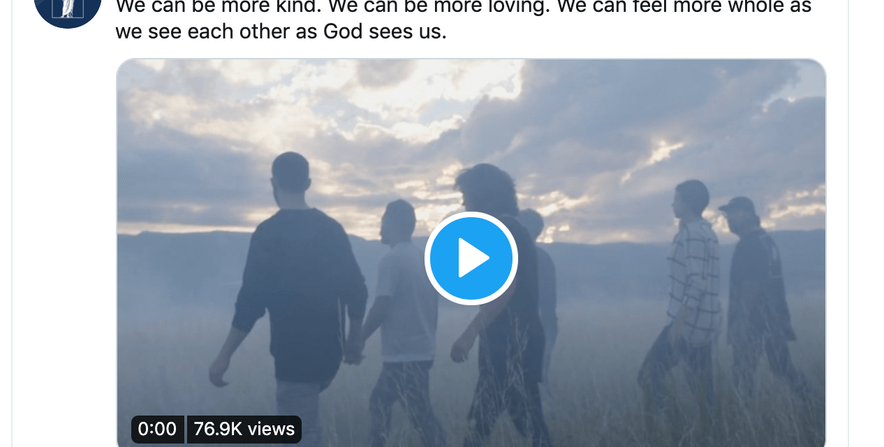 "VIDEO: ""I Say Unto You, Be One"" describes the power of unity"