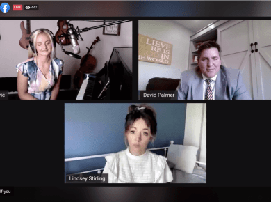 Watch this Hi 5 Live with Lindsey Stirling & Evie Clair