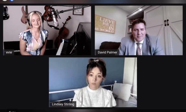 VIDEO: Lindsey Stirling & Evie Clair — Hi Five Morningside hosted by David Palmer