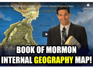 VIDEO: Come Follow Me (Insights into the Book of Mormon Internal Geography Map) Book of Mormon Central