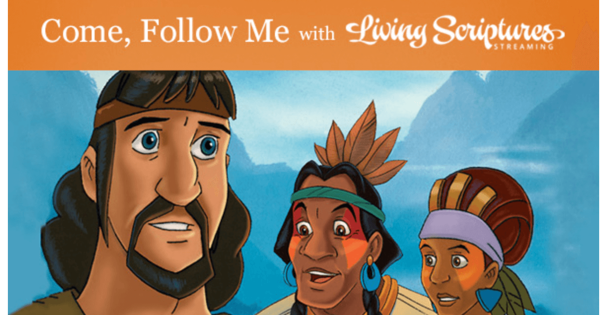 #ComeFollowMe with Living Scriptures: Alma 17-22