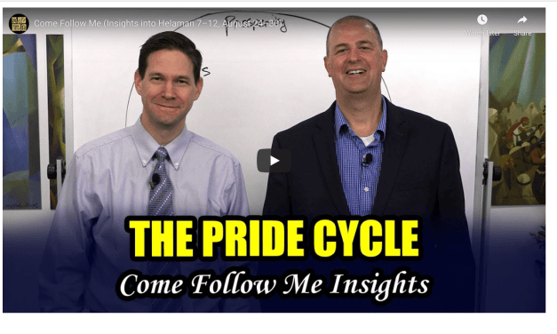 VIDEO: COME FOLLOW ME (Insights into Helaman 7–12, August 24–30) WITH TAYLOR AND TYLER FROM BOOK OF MORMON CENTRAL