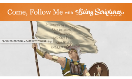 "VIDEO: #ComeFollowMe with Living Scriptures: Alma 43–52 ""Stand Fast in the Faith of Christ"""