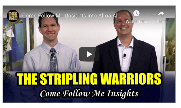 VIDEO: #ComeFollowMe (Insights into Alma 53–63, August 10–16) by Taylor and Tyler from Book of Mormon Central