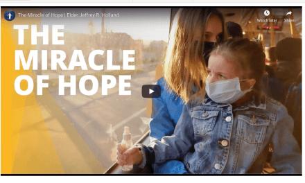 VIDEO: The Miracle of Hope | Elder Jeffrey R. Holland