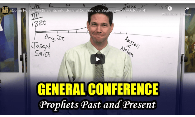 VIDEO: BOOK OF MORMON CENTRAL COME FOLLOW ME #GeneralConference edition #COMEFOLLOWME WITH TAYLOR AND TYLER