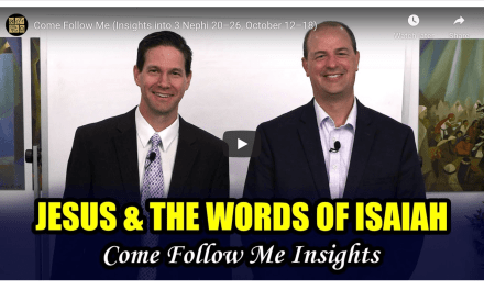 "VIDEO: BOOK OF MORMON CENTRAL COME FOLLOW ME 3 NEPHI 20-26  #COMEFOLLOWME WITH TAYLOR AND TYLER (October 12–18) ""Ye Are the Children of the Covenant"""