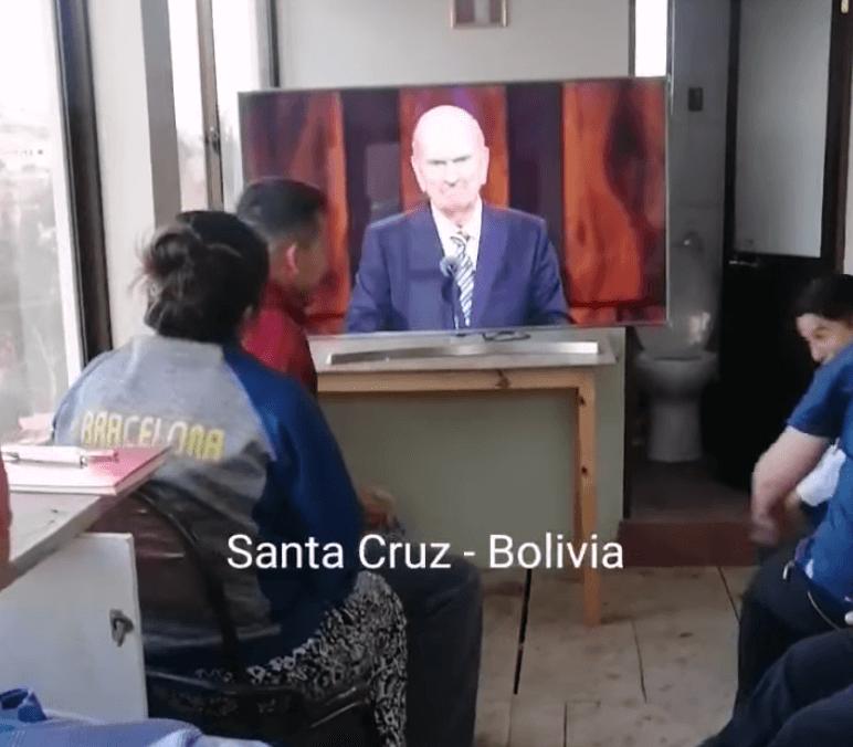 WATCH: Santa Cruz, Bolivia Saints react to the news they get a new temple