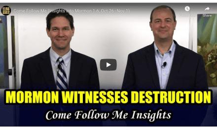 VIDEO: BOOK OF MORMON CENTRAL COME FOLLOW ME INSIGHTS! WITH TAYLOR AND TYLER (Mormon 1-6) October 26–Nov 1   #COMEFOLLOWME