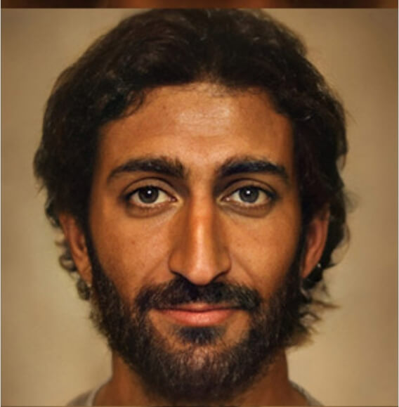 Artifical intelligence jesus VIDEO: An AI-rendered image of Jesus Christ