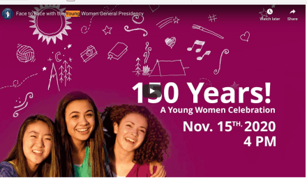 VIDEO: 150 Years! A Young Women celebration