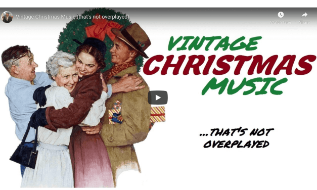 VIDEO: Vintage Christmas Music (that's not overplayed)