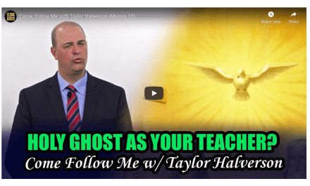 VIDEO: Book of Mormon Central Insights | Come, Follow Me with Taylor Halverson | Moroni 10