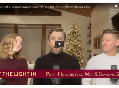 Let the Light In - Mat and Savanna Shaw with Peter Hollens (Peter Hollens Original Song) | #LightTheWorld
