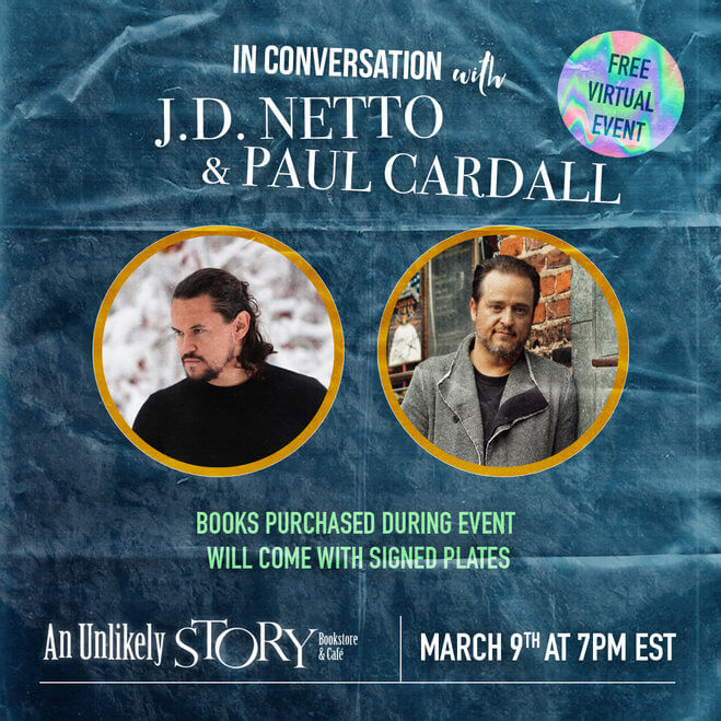 EVENT: Virtual Book Signing with Paul Cardall and J.D. Netto (The Broken Miracle)