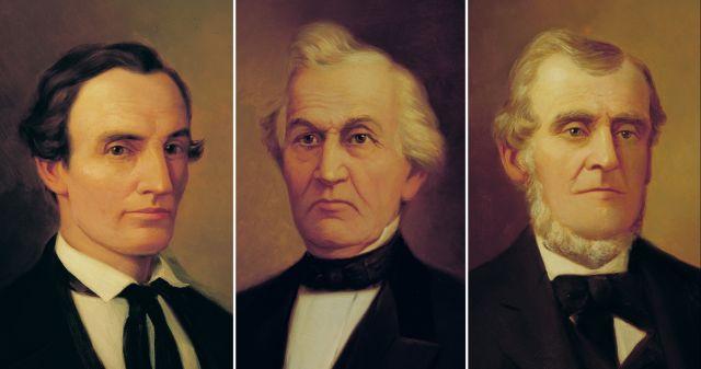 Portraits cowdery whitmer harris