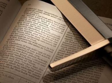 Scriptures and swords