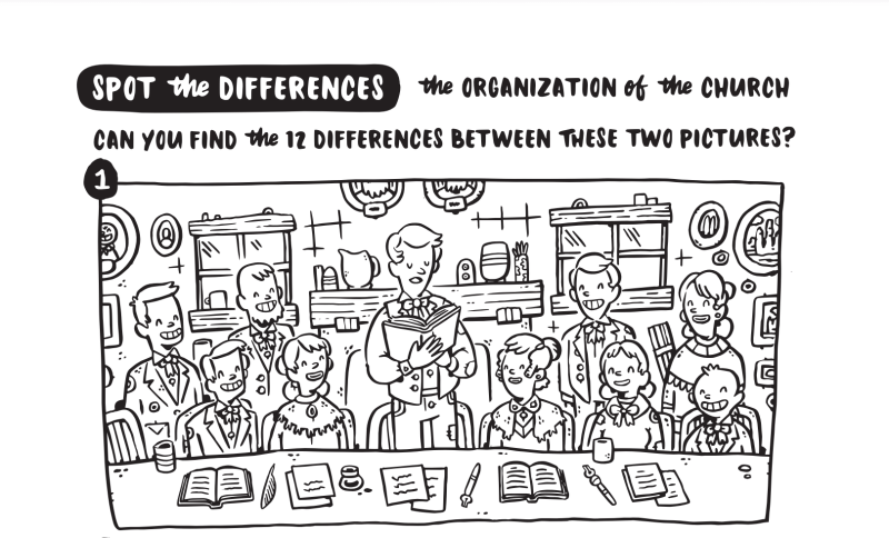 """FREE DOWNLOAD: LDS COLORING PAGES DOWNLOAD FOR Come, Follow Me Doctrine and Covenants Lesson 11: March 8–14 """"Strengthen the Church"""" Doctrine and Covenants 23–26"""