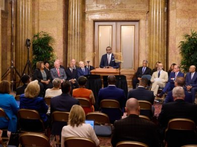 """VIDEO: The First Presidency of The Church of Jesus Christ of Latter-day Saints and NAACP Leaders Announce a Shared Vision to """"Learn from and Serve One Another"""""""