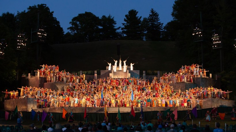 The Hill Cumorah Pageant is ending after 84 years. As a thank you for the contributions of tens of thousands of participants, volunteers, and audience members over the years, The Church of Jesus Christ of Latter-day Saints will present a devotional with Elder D. Todd Christofferson of the Quorum of the Twelve Apostles and a broadcast of the 2019 Hill Cumorah Pageant on July 9, 2021.