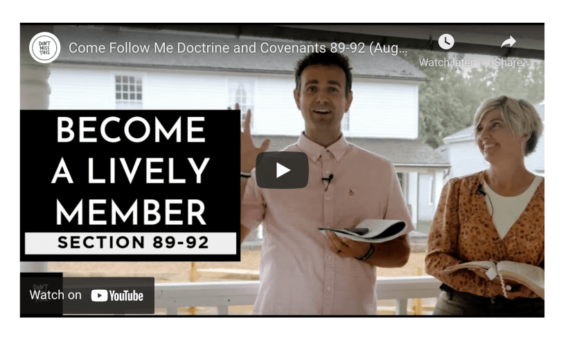 """VIDEO: Come Follow Me 