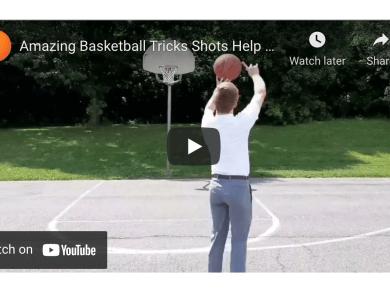Amazing Basketball Tricks Shots Help Missionaries Introduce Message of Gospel