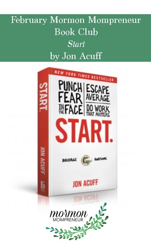 Book Club Start by Jon Acuff
