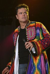 During Concert Donny Osmond Grants Wish Of 11 Year Old Boy