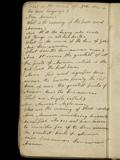 Pratt, notebook, penultimate leaf (verso)