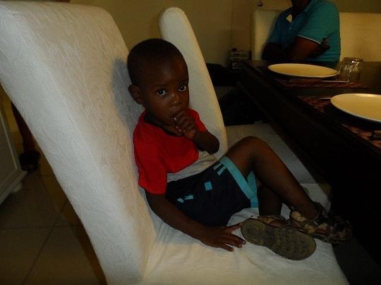 Botswana - børnene i mit hus