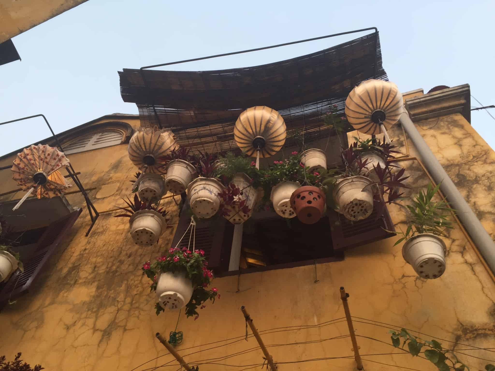 Tidlig aftenstemning i Hoi An City