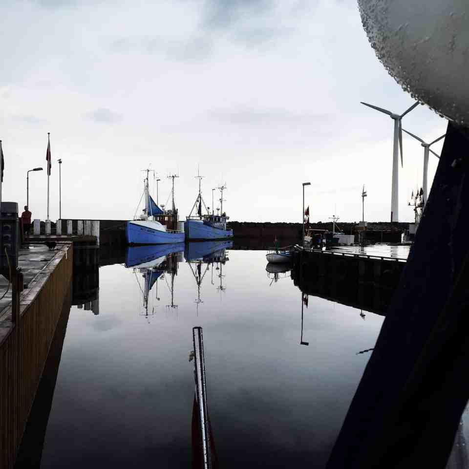 Susie på vej tilbage til Marselisborg Havn via Bønnerup med udfordringer ombord