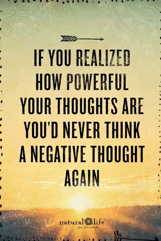 Dine ord og tanker kan ændre dit mind-set!