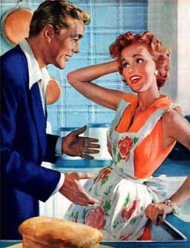 Kvinderne tilbage til kødgryderne...!!!
