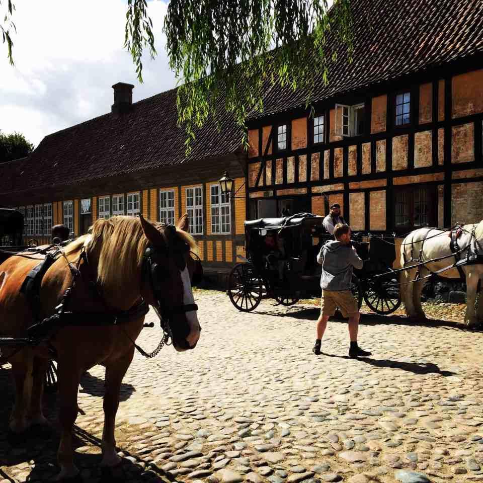 Den dejligste dag i Den Gamle By i Århus