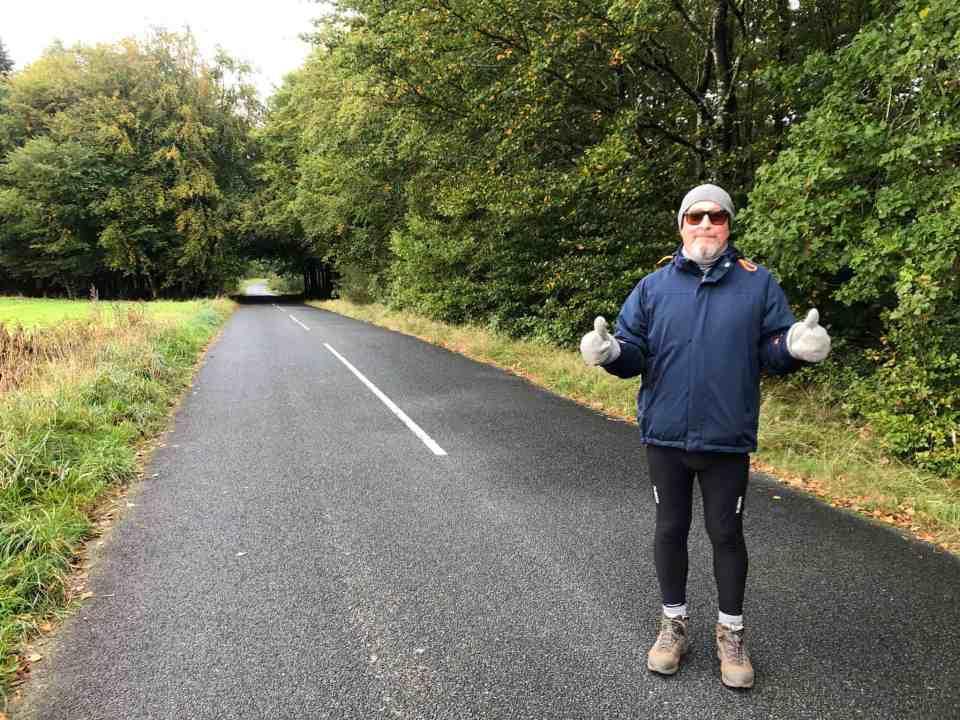 Min seje mand - første tur efter Legionella