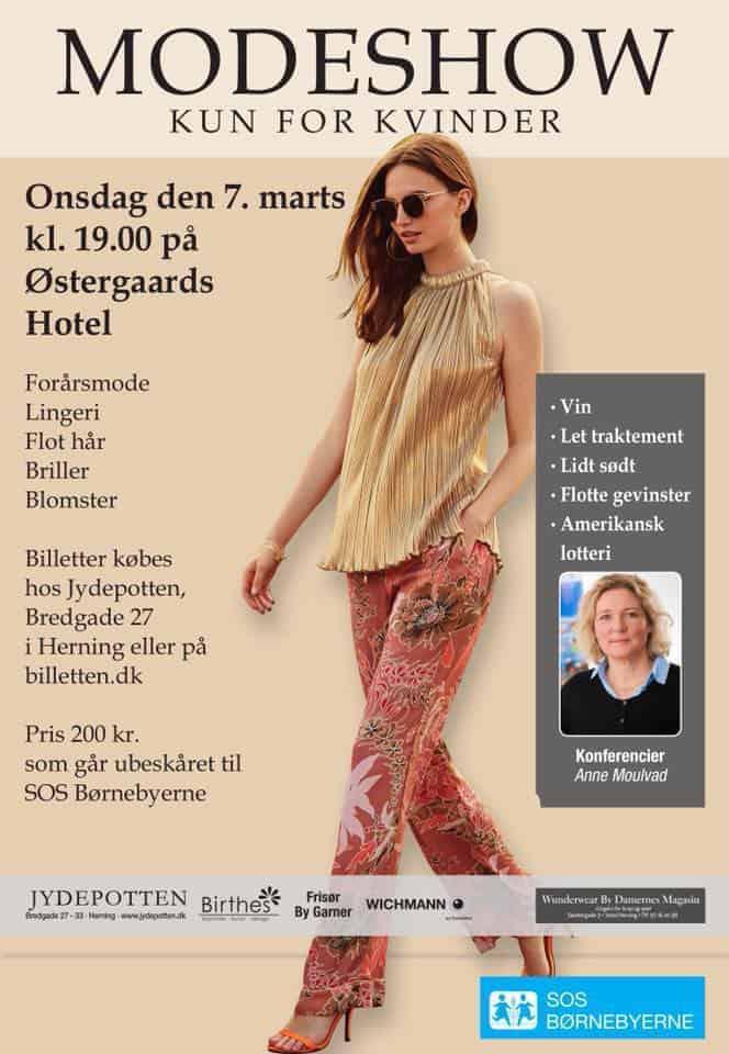 Flot show med Jydepotten for SOS Børnebyerne
