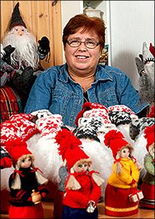 Mormors Julstuga - Köp Tomtar, Vättar, Väsen - Hantverk av högsta kvalitet säljes