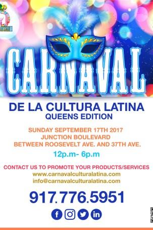 Carnaval de la Cultura Flyer