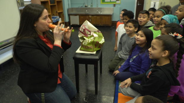 Ms. Salguero Shows That Music Can Come From Just About Anywhere