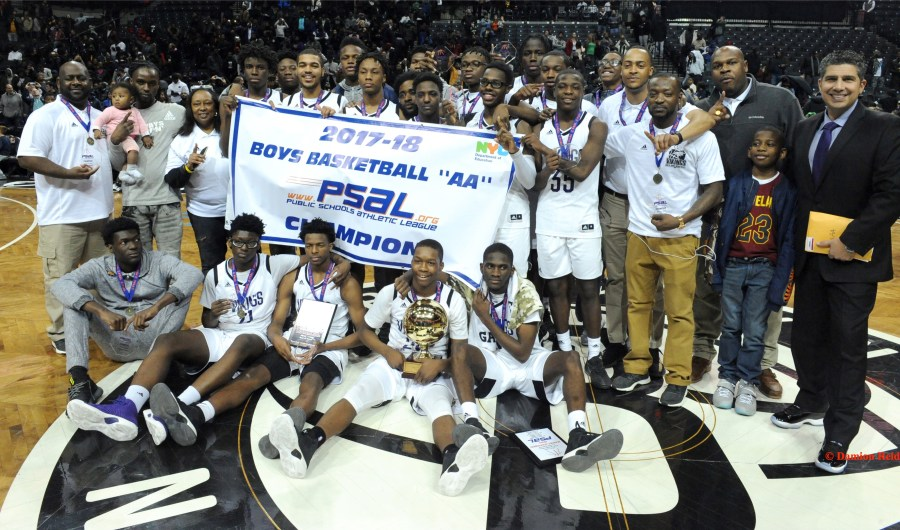 Congratulations to South Shore's Boys Basketball Team for Capturing Their First PSAL AA Championship!