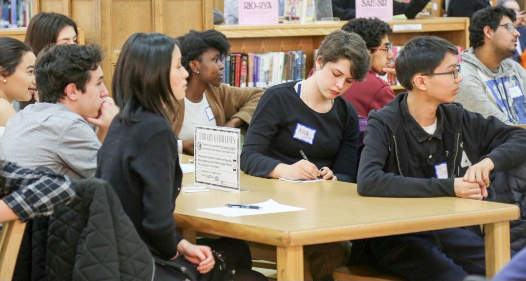 Brooklyn Tech Students Listen to Chancellor Carranza During His Listening Tour
