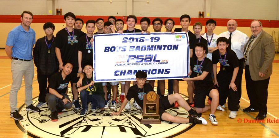 PSAL Boys Badminton Team Championship 2018