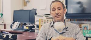 REC supervisor Bennett Lieberman sitting in his office