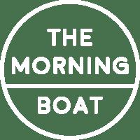 The morning boat logo 2017 white