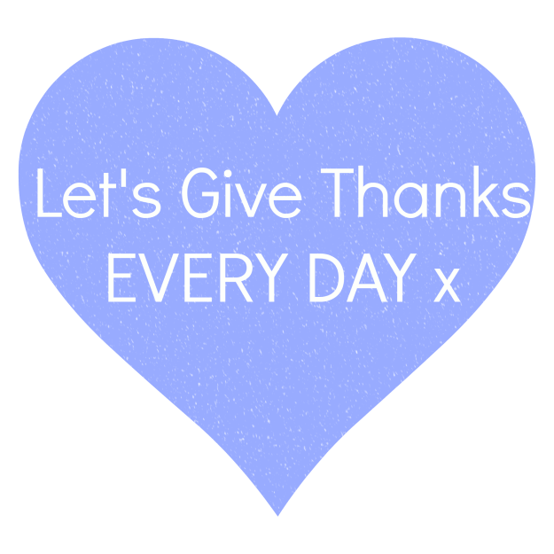 Thanksgiving ~ Let's make giving thanks something we do every day. Gratitude is powerful.
