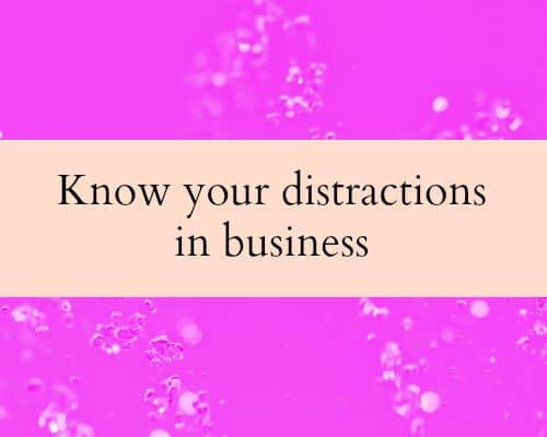Be more productive in your business. 8 productivity tips to avoid distraction in business